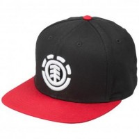 Element Cap Negro/Rojo