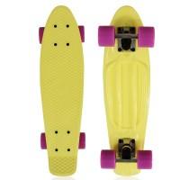 "NKD Classic Deluxe Skateboard 22"" - Amarillo"