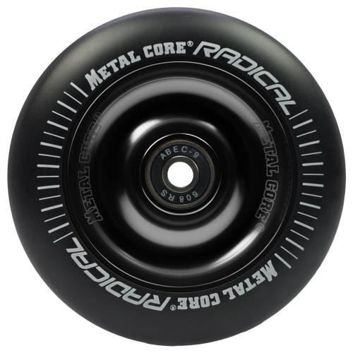 Metal Core Radical Rueda Negro