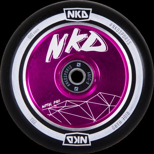 NKD Metal Pro Freestyle Patinete Rueda