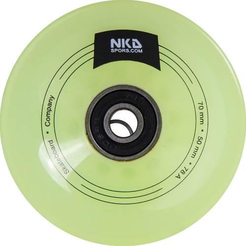 NKD Longboard Rueda 70 mm/78 A