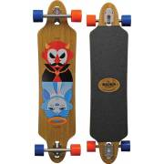 Madrid Tombstone Bamboo Good-Evil Longboard